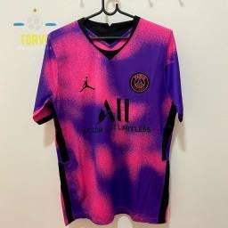 Título do anúncio: PSG rosa camisa 10 Neymar