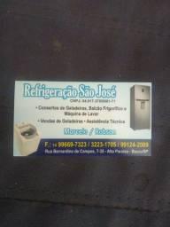 Conserto de geladeira e máquina de lavar  roupa