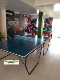 Tenis de Mesa/Ping Pong Pé de Ferro c/ rodizio