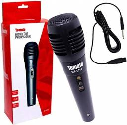 Título do anúncio: Microfone Com Fio Tomate MT-1010