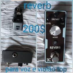 Reverb para voz e violão ?