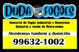 Manutençao e Conserto de Fogão Doméstico, Industrial e CookTop