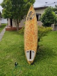 Título do anúncio: Pranchinha Surf 6.3 c/ capa deck leash