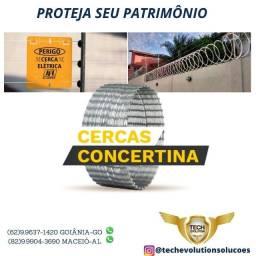 Título do anúncio: Concerina Dupla clipada Promoção valida a partir de 30 metros