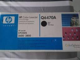 Título do anúncio: Torner Hp Q6470A para color laserjet preto original