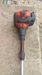 Maquina de cortar grama e aparador de cercar viva