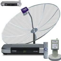 Antena Parabólica visiotec