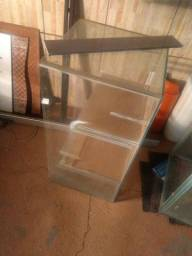 Vidro de aquário com sumper- 1,80metros