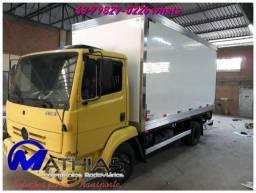 Baú camara fria nova e usadas para caminhão Mathias Implementos