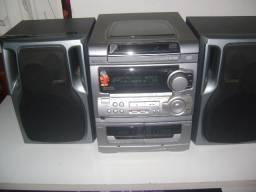 Conjunto de Som Aiwa NSX 5303 Audio System Digital Super Tbass