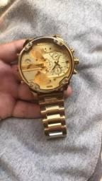 Relógio Diesel Dz 7333 Dourado ( Novo )