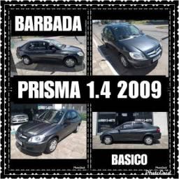 Prisma 1.4 R$ 2.000 entrada + 48X ( Ac moto de entrada e parcelo entrada no cartão ) - 2009