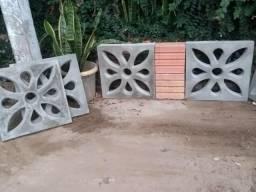 Cobogó (elemento vazado) 40×40 concreto