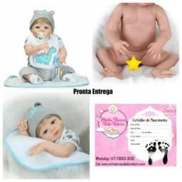 Pronta Entrega Bebê Reborn Menino-silicone-Barato