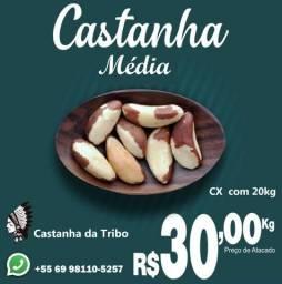 Castanha do Pará com qualidade única e preço diferenciado