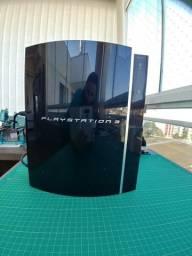PlayStation 3 com acessórios + 7 jogos