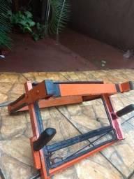 Suporte artesanal para bikes