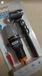 Microfone knup condensador
