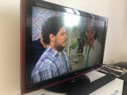 Tv 42 lcd lg scarlet com subwoofer embutido