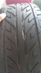 Jogo de roda aro 18 com 4 pneus novos
