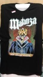 Camiseta Matanza - Pior Cenário Possível - Música, Rock, Metal