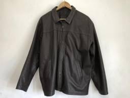 Jaqueta de couro tamanho m