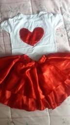 Conjunto Amor 5/6 anos