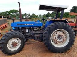 Trator New holland 7630 ano 2001 4x4