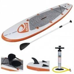 Stand Up Paddle Inflável com Bolsa para carregar Mor - Usado, mas em ÓTIMO estado!