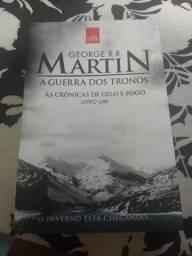 Livro game of thrones as crônicas de gelo e fogo