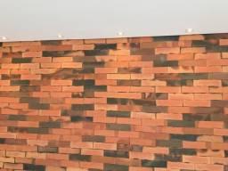 Tijolinho rústico / revestimento/ plaquetas de parede