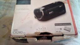 Câmera filmadora da sony