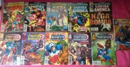 Formatinhos: Capitão América (1979-1997) 41 Edições.