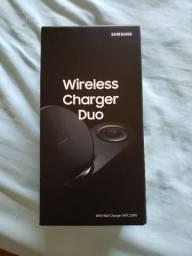 Carregador Samsung Wireless Charger Duo lacrado