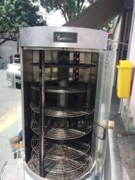 Máquina de assar frango gastromaníaca