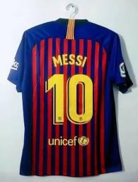 93cd147132 Camisa Original do Barcelona - Messi 10 -Temporada 18 19