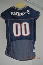 Camisa Patriots Original Cachorro Pequeno - Nova