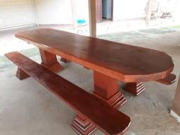 Mesa de madeira 3,15 metros