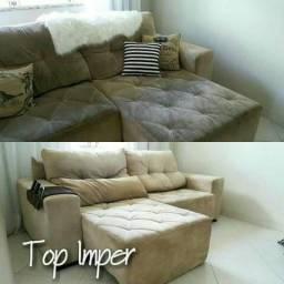Até 50%OFF Na limpeza de sofá e higienização