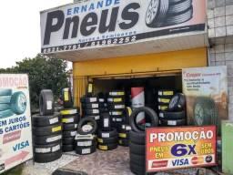 Sexta feira e sábado tem pneus continental,175/70/13