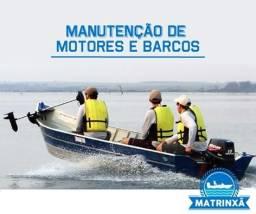 Conserte seu motor de popa/ barco ou lancha