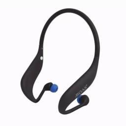 Fone Bluetooth Sem Fio Corrida Esporte Rádio Fm Boas Lc-702s