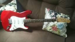 Guitarra Rock Condor strato e pedaleira!