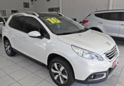 Peugeot 2008 Branco 1.6 16V Flex Griffe 4P Automático 2016