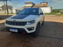 Jeep compass Branco 20/20