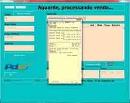 Sistema de vendas, controle de estoque, gestão de vendas, PDV, cadastros, caixa