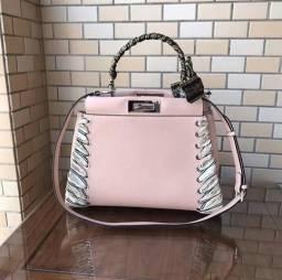 Título do anúncio: Bolsa de Couro Pink Fendi