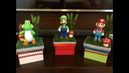 Lembrancinhas Mario Bross em Biscuit