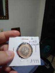 Moeda 1 euro 1999 rarissima francesa