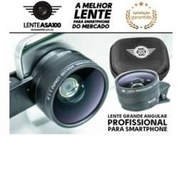Lente Para Celular Wide 10mm E Macro Profissional Asa100
